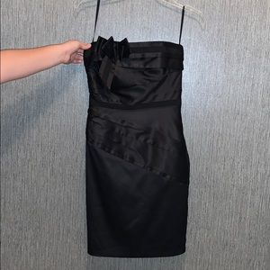 White House Black Market Strapless Fitted Dress 2